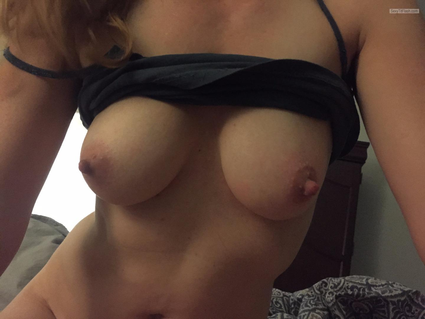 Tit Flash: My Small Tits - Clara from United States